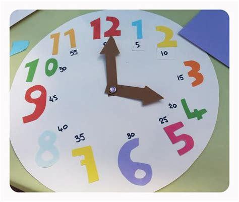 Fabriquer Horloge by Fabriquer Une Horloge 233 Ducative En Papier Manzabull