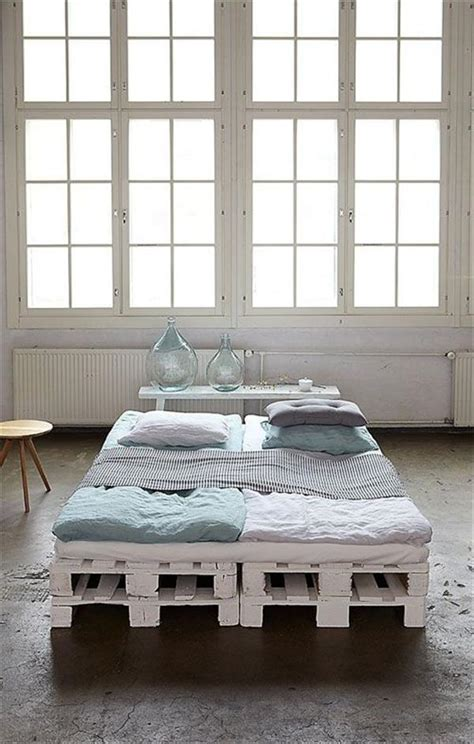 beds made out of pallets 10 diy beds made out of pallets wooden pallet furniture