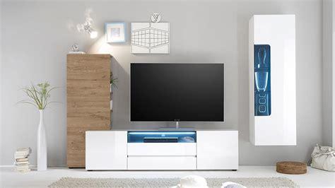 Designer Tv Board by Tv Board Vicenza Lowboard Wei 223 Hochglanz Lackiert 185