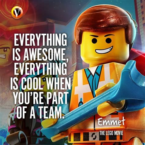 emmet chris pratt in the lego quot everything is awesome everything is cool when you re