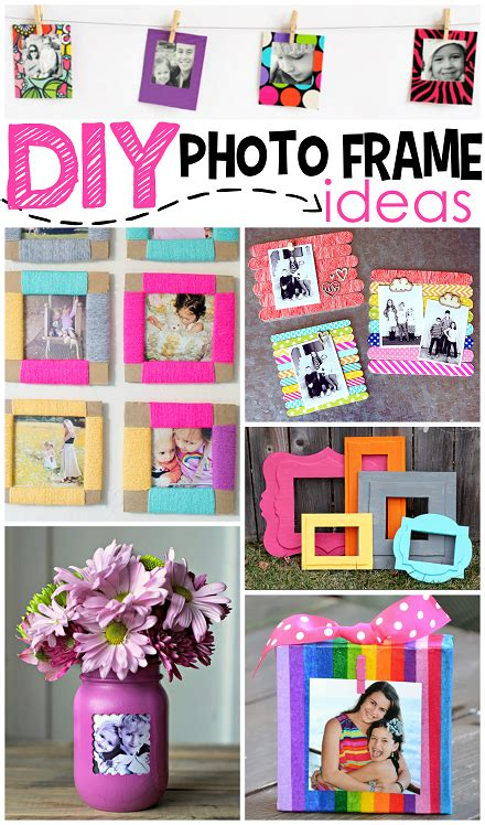 photo framing ideas diy photo frame ideas crafty morning