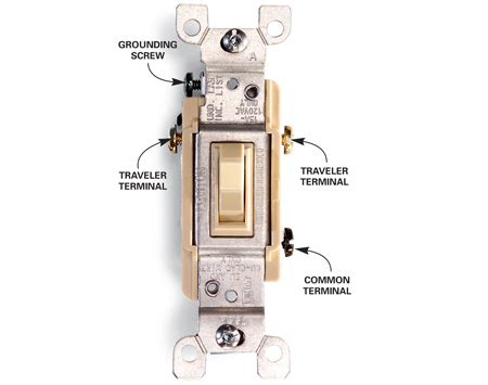 what color is the common wire electrical how should i rewire a miswired 3 way switch