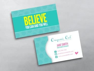 Origami Owl Mlm - origami owl business cards free shipping