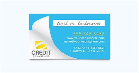 financial business card template financial business card template design layout
