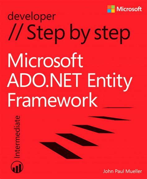 microsoft adonet entity framework step  step microsoft press store