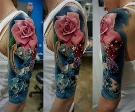 horseshoe and rose tattoo 40 horseshoe tattoos tattoofanblog
