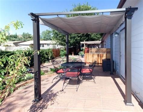 hton bay 9 1 2 ft x 9 1 2 ft steel pergola with