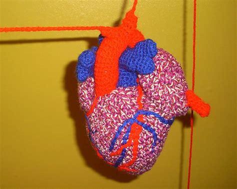 knitting pattern anatomical heart anatomical human heart c crochet patterns tutorials