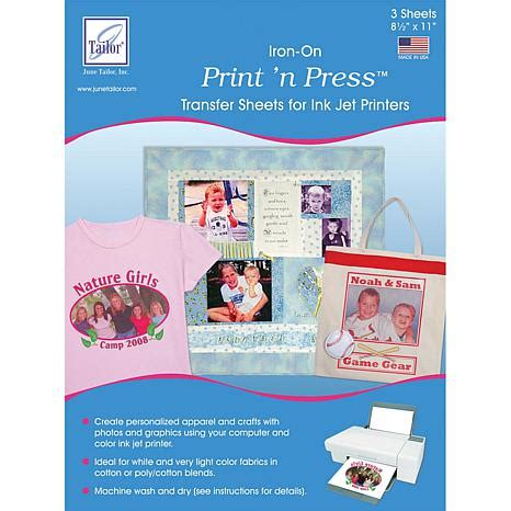 where to buy printable iron on transfer paper june tailor print n press iron on transfer paper