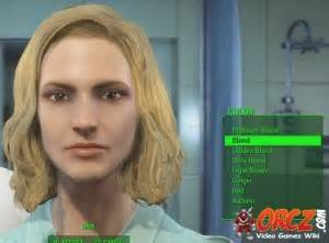 fallout 4 hair color fallout 4 hair color blond orcz com the video games wiki