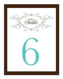 table number templates my road to the altar do it yourself wedding invitations