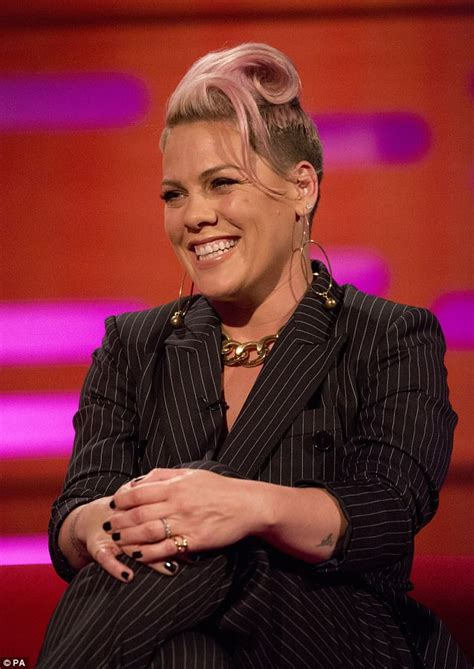 Chatting With Graham by Pink Reveals Used To Cry To Daily Mail