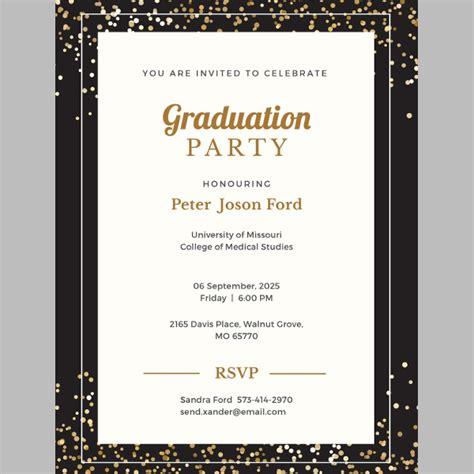 38 Printable Graduation Invitations Psd Ai Free Premium Templates Graduation Invitations 2017 Templates