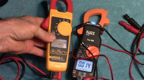 Appa A1 Cl Meter Ac Dc True Rms fluke 325 vs klein cl2000 trms ac dc cl meter