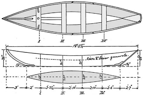 small fishing boat dimensions pt 1 ch 4 canoeing sailing motor boating miller boat