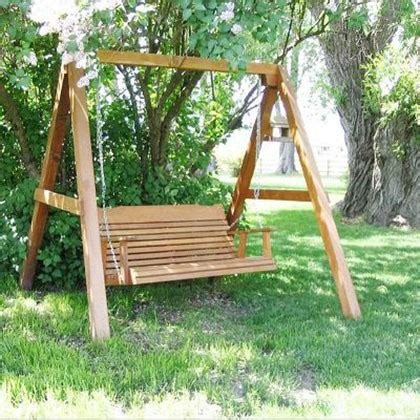 porch swing accessories amish creek furniture classic cedar adult porch swing set