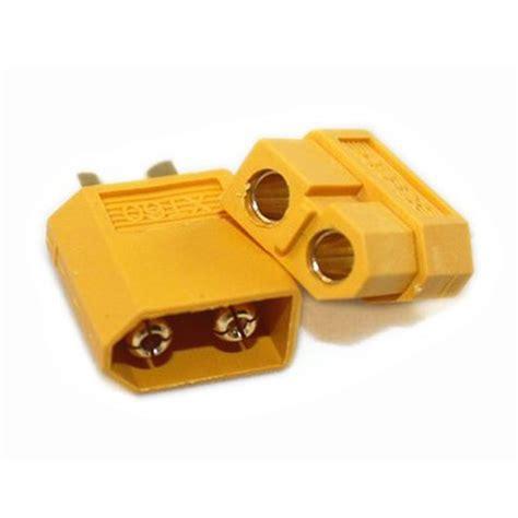 xt60 bullet connectors plugs for rc battery alex nld