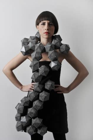 Origami Inspired Fashion - origami inspired strictlypaper
