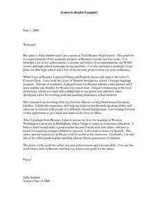 cover letter for portfolio best photos of high school senior portfolio sle high