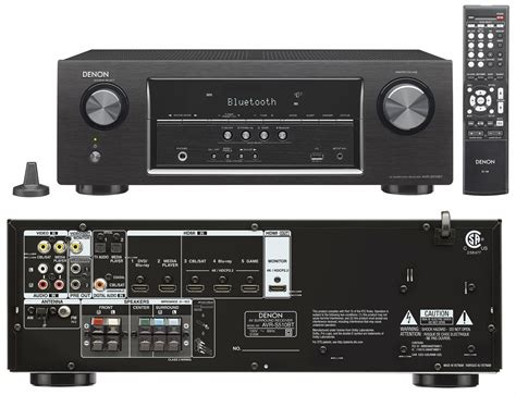 denons entry level avr sbt home theater receiver profiled