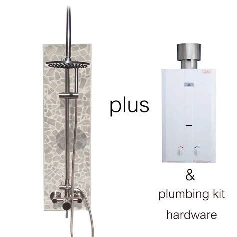 On Demand Shower Water Heater by Portable On Demand Water Tank Sunrinse Outdoor Showers