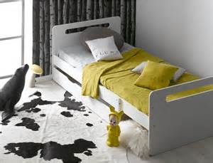 lit 233 volutif enfant avec matelas feroe blanc