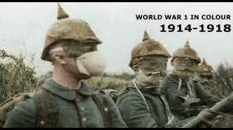 world war 1 in color world war 1 in colour combat footage 1914 1918