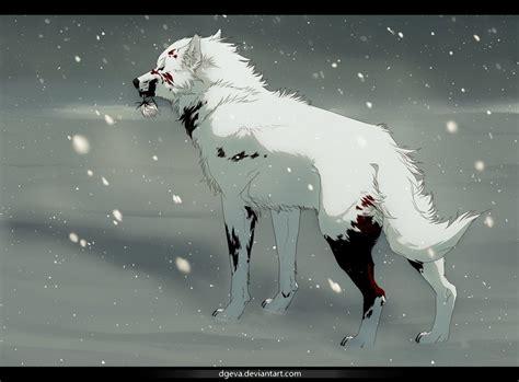 wolf s wolf s kiba by dgeva on deviantart