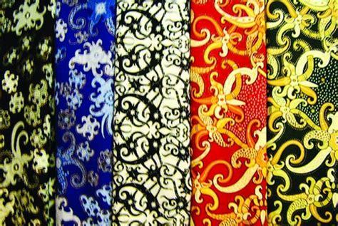 Kain Batik Kalimantan 42 batik hesandra khas kaltim miliki warna yang cerah republika