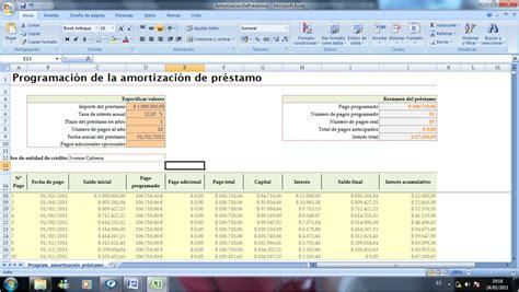 cuadro amortizaci n prestamo tablas amortizacion gabilos descargar gratis descargar
