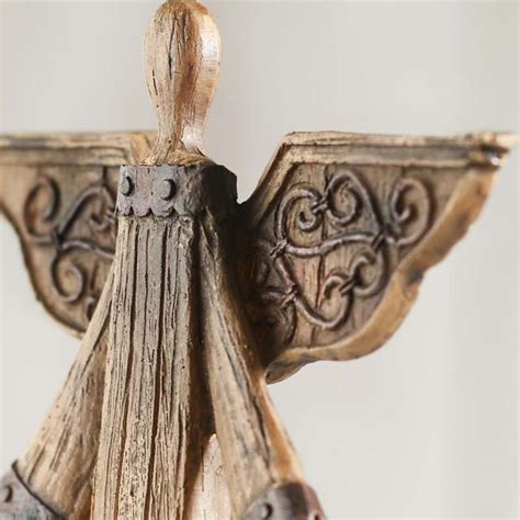 angels home decor rustic wood look angel what s new home decor