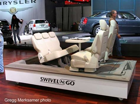 chrysler minivan with swivel seats kit foster s carport 187 archive 187 mr merks goes to motown
