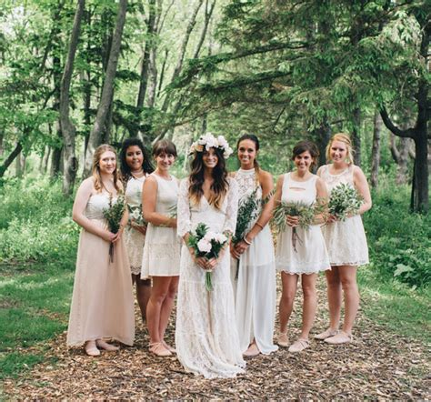 bohemian backyard wedding in milwaukee rea danny