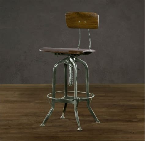 Restoration Hardware Bar Table Chair For Drafting Table The Studio Vintage Chairs And Awesome