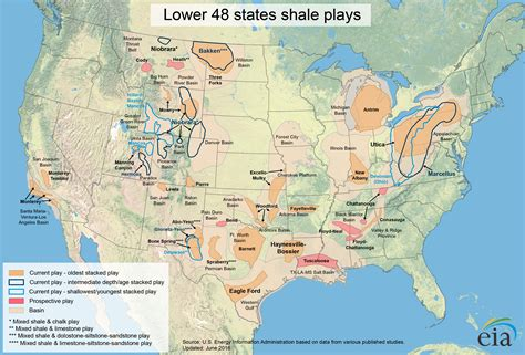 united states shale map the shale quot gold quot
