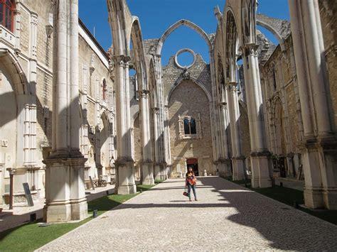 turisti per caso lisbona lisboa convento do carmo viaggi vacanze e turismo