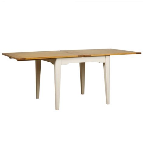 extending dining table buy flip top extending dining table painted oak dining