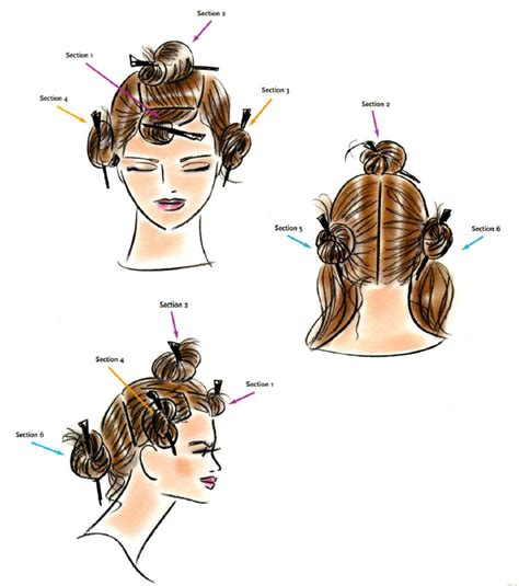how to section your hair for blow drying blow drying tips for smooth and straight hair nick