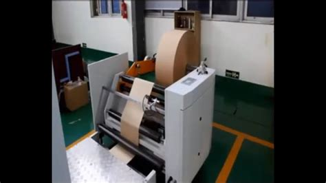Paper Bag Machine Cost - paper bag machine roll fed food paper bag