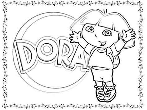 dora the explorer coloring pages dora the explorer mermaid