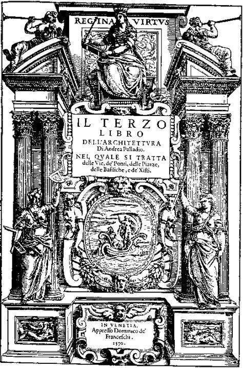 libro palladio terzo libro di andrea palladio