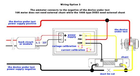 woltomierz i eromierz elektroniczny led pomiar dc 0