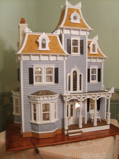 wooden dolls house kit house kits wooden dolls and doll houses on pinterest