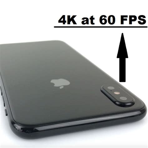 how to record 4k at 60 fps on iphone 8 iphone 8 plus and iphone x iphonetricks org