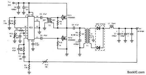 switch mode power supply circuit diagram switch mode power supply power supply circuit circuit