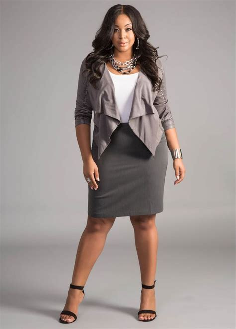 overweight proffesional outfits rise in your corporate career with the right plus size