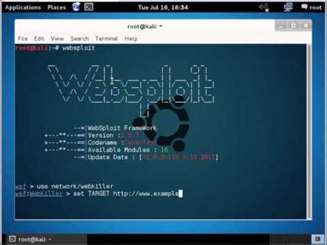 websploit tutorial kali linux how to attack website websploit kali linux anonymous