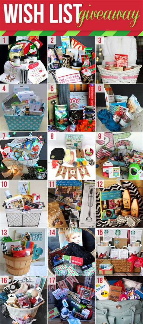 Wish Giveaway - frugal foodie mama christmas wish list giveaway
