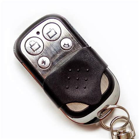 Universal Garage Door Opener Key Fob Aliexpress Buy Universal Garage Door Opener Remote 4 Channel 433mhz Auto Gate Copy