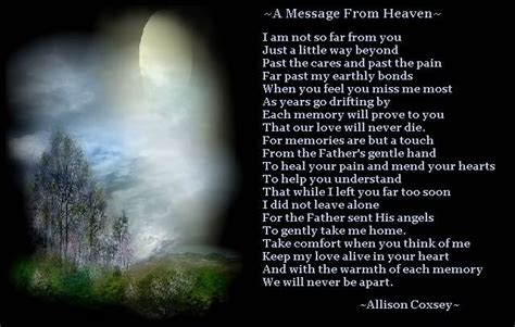 heaven poem happy birthday from heaven poem for my wonderful husband george who is 70 today in